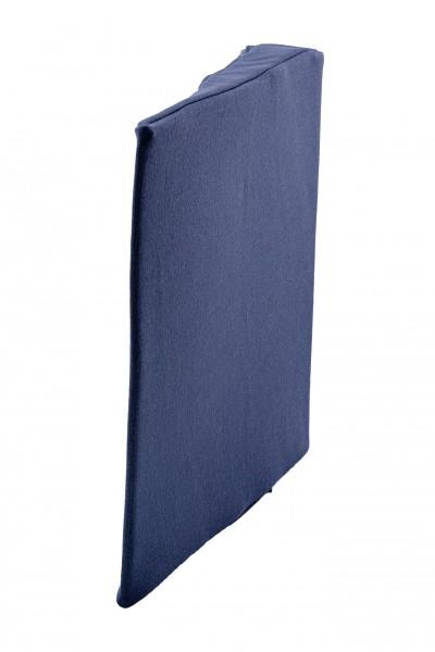 Bezug für Keilkissen/Sitzkissen mit Höhe 7 cm,