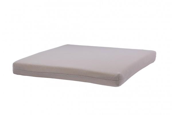 Bezug für Sitzkissen 40x40x4 cm, beige