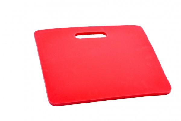 Sitz- und Knieunterlagen für Außen/Outdoor, rot