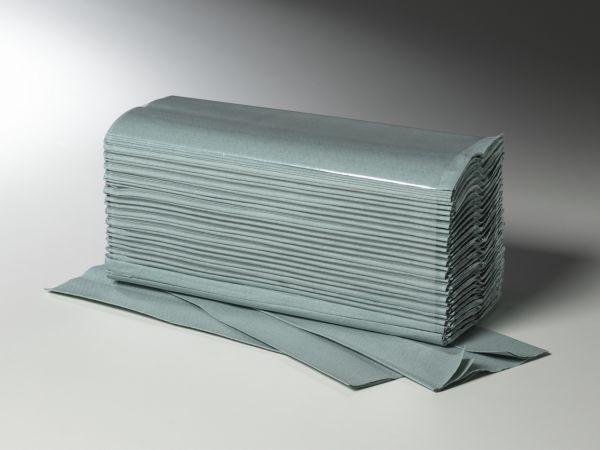 Papierhandtücher Zick-Zack-Falz, grün