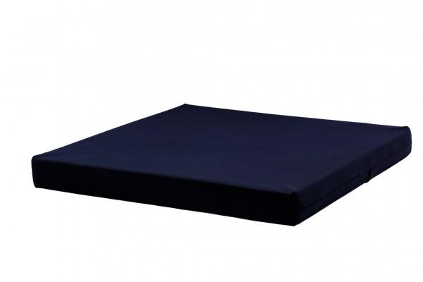 Bezug für Sitzkissen, 40x40x4 cm, schwarz